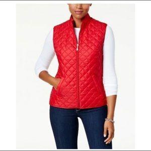 Karen Scott NEW Plus 0X Red Vest